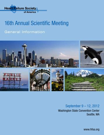 16th Annual Scientific Meeting - Heart Failure Society of America