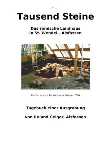 römischen Villa von Alsfassen - Historische Forschungen Roland ...