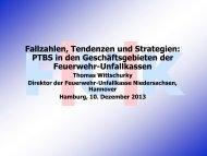 Fallzahlen, Tendenzen und Strategien: PTBS in den ...