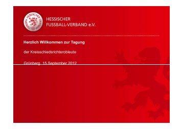 Präsentation KSO-Tagung 15.09.2012