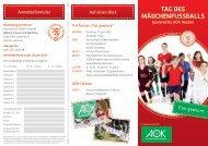TAG DES MÄDCHENFUSSBALLS - Hessischer Fußball Verband