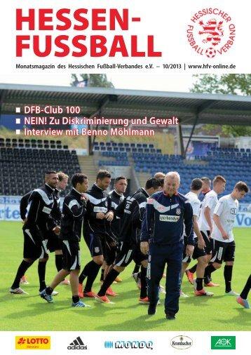 DFB-Club 100 NEIN! Zu Diskriminierung und Gewalt Interview mit ...