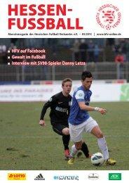 Gewalt im Fußball - Hessischer Fußball Verband