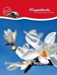 Reiseprogramm Sommer - Engeloch Reisen