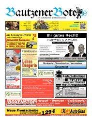 20.April 2013 (16.KW) - BautzenerBote.de