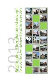 Regionales Einzelhandelskonzept 2013 - Stadt Herne