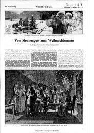 Vom Sonnengottzum Weihnachtsmann - Neue Zürcher Zeitung