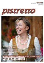 Pistretto62 / NOVEMBER 2013 - Pistor