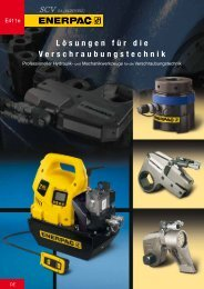 Enerpac Verschraubungstechnik - SCV SA