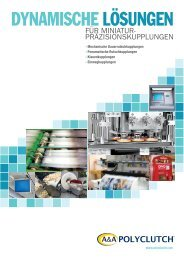Katalog POLYCLUTCH - Halltech Maschinen Ausrüstungen