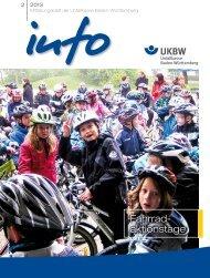 Fahrrad- aktionstage - Unfallkasse Baden-Württemberg