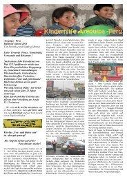 Infobrief Kinderhilfe Arequipa - ev-kirche-broich-saarn.de
