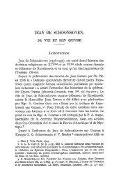 JEAN DE SCHOONHOVEN ,