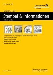 Ansicht und Download (PDF) - Deutsche Post - Philatelie