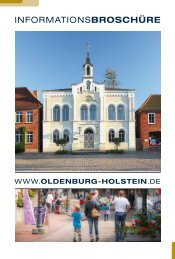 Informationsbroschüre Oldenburg in Holstein (PDF 7,4 MB) - Stadt ...