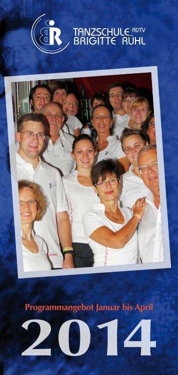 Zusammenfassung der Tanzkurse - Tanzschule Brigitte Rühl