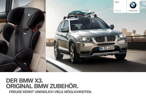 Zubehör BMW X3 Katalog
