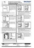4.1 Montagehinweise für Schallschutztüren - Grauthoff - Page 2