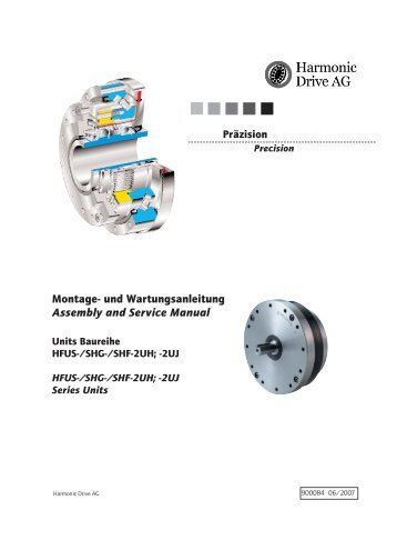 Montage- und Wartungsanleitung Assembly and Service Manual
