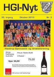 35.årgang - oktober 2010 - nr. 2 - HGI Nyt