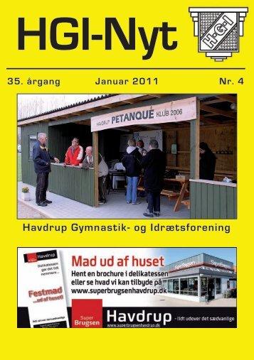 35. årgang Januar 2011 Nr. 4 - HGI Nyt
