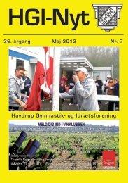 maj 2012 - HGI Nyt