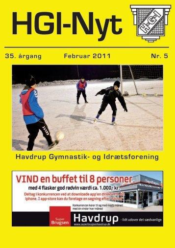 35.årgang - februar 2011 - nr. 5 - HGI Nyt