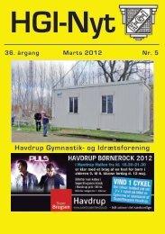 36.årgang - marts 2012 - nr. 5 - HGI Nyt