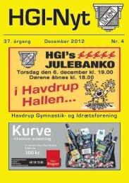 37.årgang - december 2012 - nr. 4 - HGI Nyt