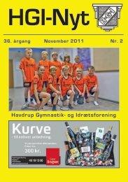 36.årgang - november 2011 - nr. 2 - HGI Nyt
