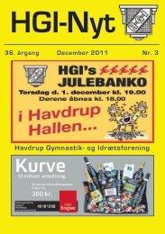 36.årgang - december 2011 - nr. 3 - HGI Nyt