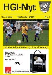 Havdrup Gymnastik- og Idrætsforening - HGI Nyt