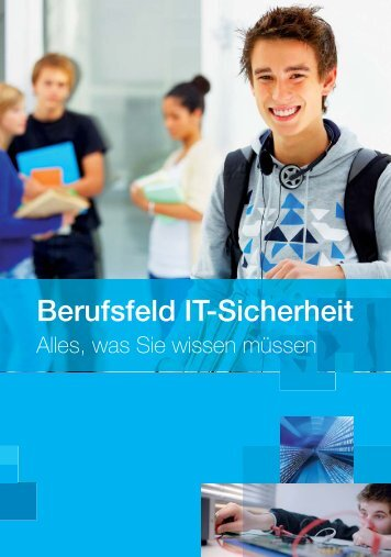 Berufsfeld IT-Sicherheit - Horst Görtz Institute for IT-Security - Ruhr ...