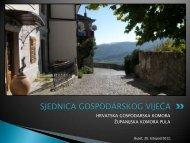 sjednica gospodarskog vijeća - Hrvatska gospodarska komora