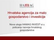 Hrvatska agencija za malo gospodarstvo i investicije