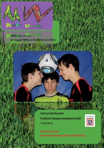 Stadionzeitung - sa.sch design