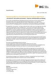 Wettbewerb HBLA für wirtschaftliche Berufe Innsbruck ... - BIG