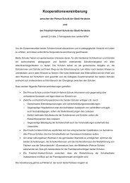 Kooperationsvereinbarung zwischen der Friedrich ... - Stadt Herdecke