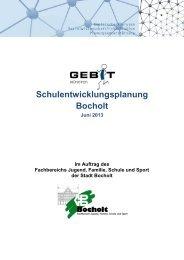 Schulentwicklungsplan Bocholt