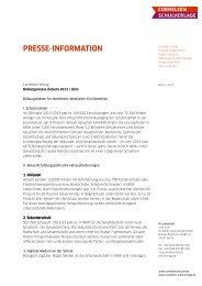 DownloadDiese Pressemeldung zum Download - Cornelsen Verlag