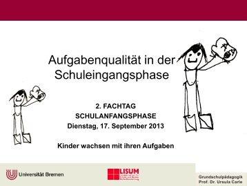Präsentationsfolien - Universität Bremen