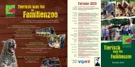 Termine 2013 - Tierpark Nordhorn