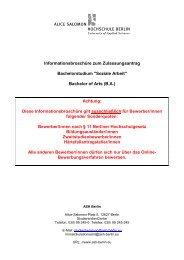 Informationsbroschüre Bewerbung Sonderquoten - Alice Salomon ...