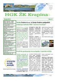 Newsletter-ožujak 2013 - Hrvatska gospodarska komora