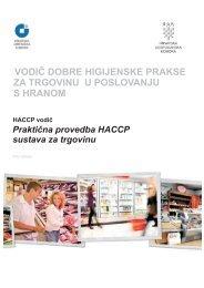vodič dobre higijenske prakse za trgovinu u poslovanju s hranom