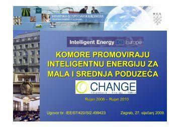 O projektu - Hrvatska gospodarska komora