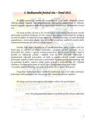 3. Međunarodni festival sira Drniš 2012. - Hrvatska gospodarska ...
