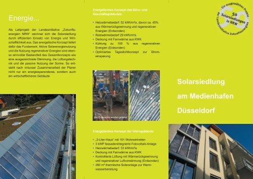 Download Infobroschüre Medienhafen - HGMB Architekten