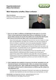 Expertenstatement Klaus Hurrelmann Mehr Netzwerke ... - Amazon S3