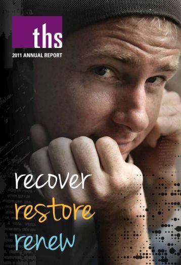 Read the 2011 Annual Report. - Therapeutic Health Services